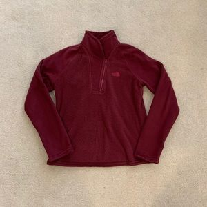 The North Face Fleece 1/4 Zip Size Large
